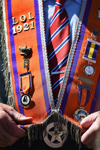 County Donegal「Members Of The Orange Order March Across The Sand At Rossnowlagh」:写真・画像(19)[壁紙.com]