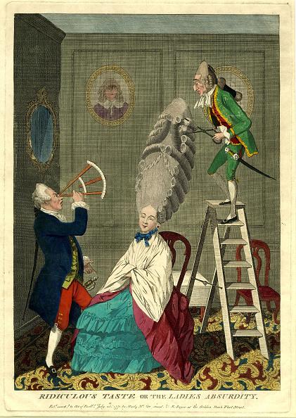 Satire「Ridiculous taste or the ladies absurdity, 1771」:写真・画像(0)[壁紙.com]