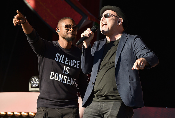 Usher - Singer「2016 Global Citizen Festival In Central Park To End Extreme Poverty By 2030 - Show」:写真・画像(9)[壁紙.com]