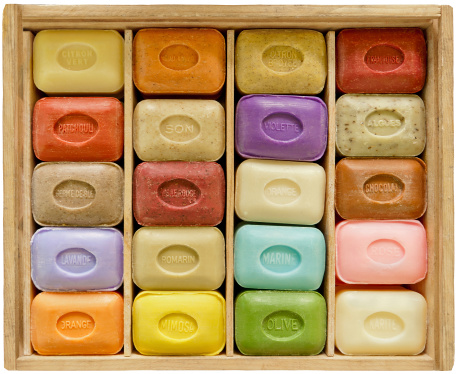Soap「Soapbar collection in wooden box」:スマホ壁紙(5)