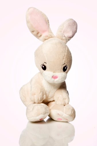 Baby Rabbit「Stuffed Bunny」:スマホ壁紙(12)