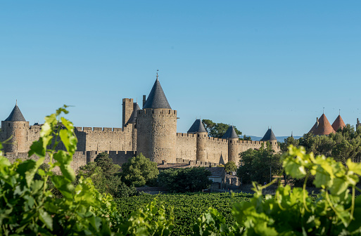 Focus On Background「Medieval fortified city of Carcassonne, Languedoc-Roussillon, France」:スマホ壁紙(10)