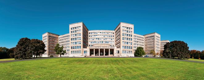 フランクフルト・アム・マイン「Germany, Frankfurt, IG Farben Building on Campus Westend」:スマホ壁紙(11)
