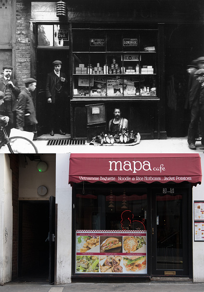 Composite Image「A Look At London's Soho - Then And Now」:写真・画像(11)[壁紙.com]