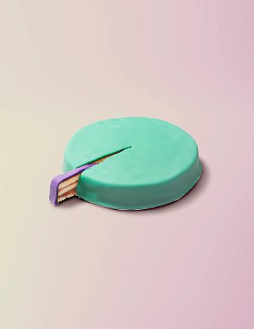 Digital Composite「Piece of cake circle chart」:スマホ壁紙(14)