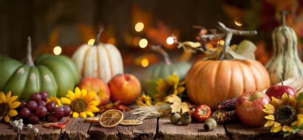 かえでの葉「木の秋のカボチャの背景」:スマホ壁紙(7)