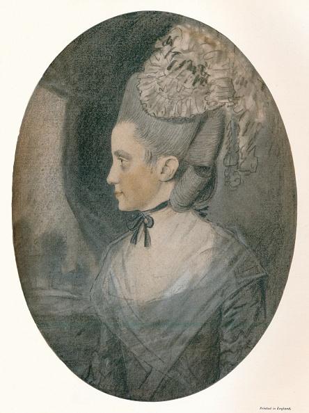 20th Century Style「'Mrs. John Mortlock (Nee Harrison)', c1780. Artist: John Downman.」:写真・画像(18)[壁紙.com]