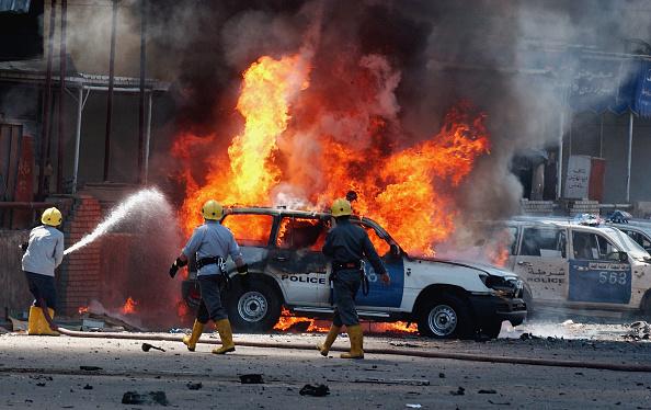 Baghdad「Suicide Car bomb Targets Police Patrol in Baghdad」:写真・画像(16)[壁紙.com]