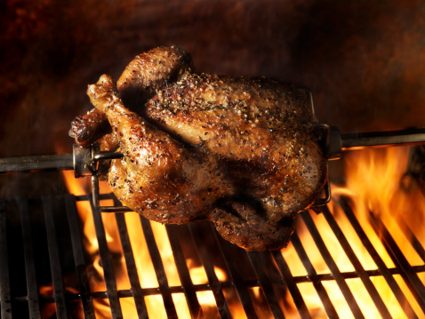Chicken Meat「Roast Chicken on the BBQ」:スマホ壁紙(10)