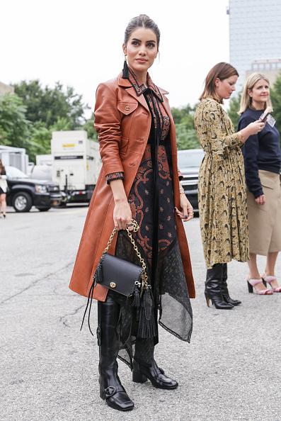 Street Style「Street Style - New York Fashion Week September 2018 - Day 7」:写真・画像(12)[壁紙.com]