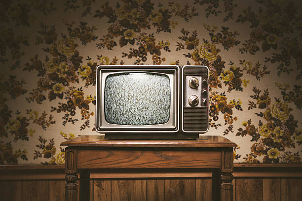 Retro Television and Wallpaper:スマホ壁紙(壁紙.com)