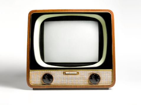 1950-1959「Retro television, with copy space」:スマホ壁紙(16)