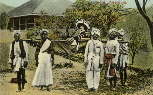 British Culture「British colonial lady in Indian palanquin」:写真・画像(13)[壁紙.com]