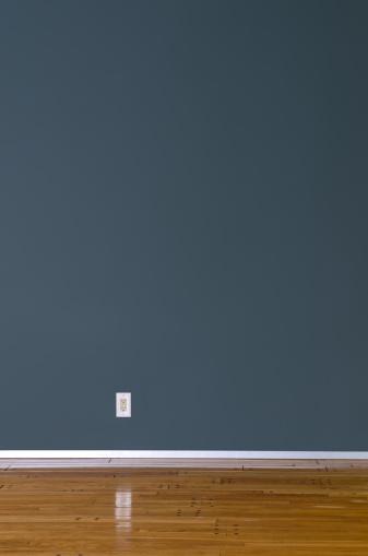Silver Colored「Empty Domestic Room」:スマホ壁紙(4)