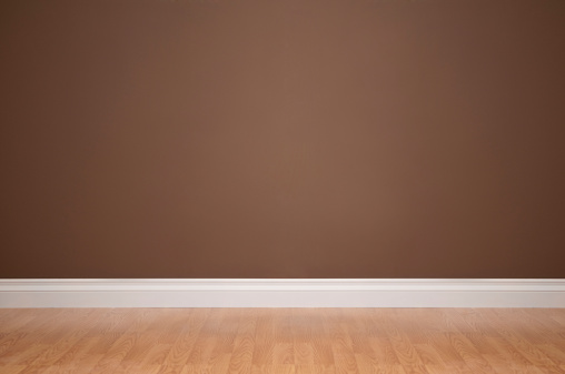 Brown Background「Empty Domestic Room」:スマホ壁紙(9)