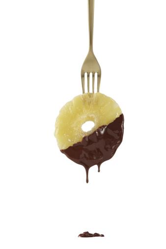 チョコレート「Chocolate-Dipped Pineapple」:スマホ壁紙(7)
