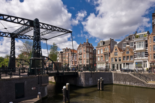 Amsterdam「Bridge on the Nieuwe Herengracht canal」:スマホ壁紙(14)