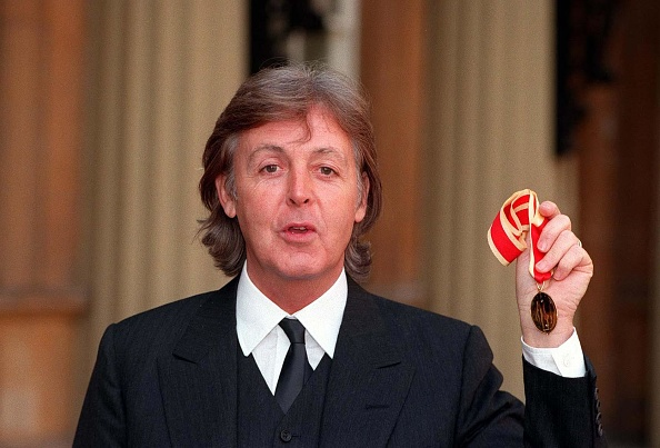 Receiving「Sir Paul Mccartney」:写真・画像(0)[壁紙.com]