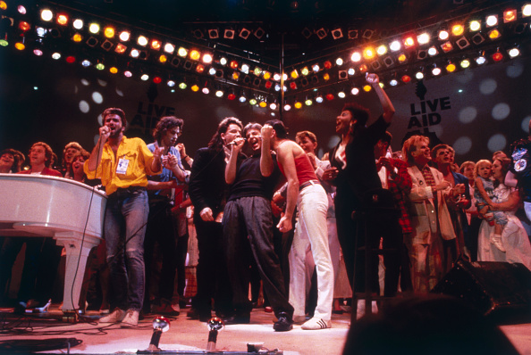 Charity and Relief Work「Live Aid Finale」:写真・画像(13)[壁紙.com]