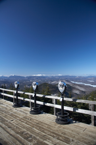 Adirondack Mountains「USA, New York, Adirondacks, pay per view binoculars」:スマホ壁紙(14)