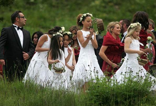 Guest「Boris Becker Weds Lilly - Ceremony At Regina Pacis Chapel」:写真・画像(9)[壁紙.com]