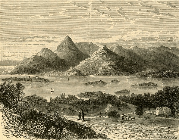 Mountain「Glengariff Harbour And Bantry Bay From The Eccles Hotel」:写真・画像(17)[壁紙.com]