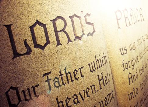 Praying「Lord's Prayer」:スマホ壁紙(1)