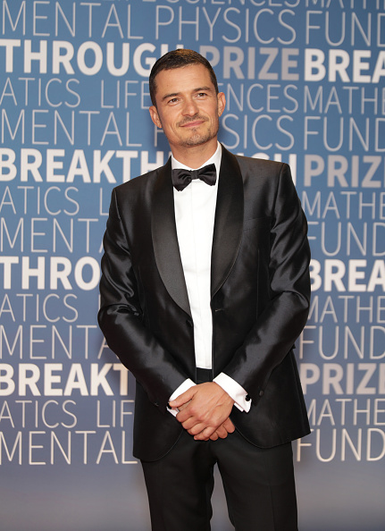 オーランド・ブルーム「2019 Breakthrough Prize - Red Carpet」:写真・画像(4)[壁紙.com]