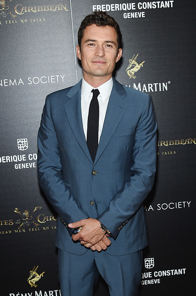 オーランド・ブルーム「The Cinema Society with Rémy Martin & Frédérique Constant host a screening of 'Pirates of the Caribbean: Dead Men Tell No Tales' - Arrivals」:写真・画像(13)[壁紙.com]