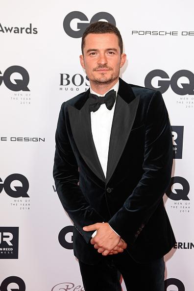 オーランド・ブルーム「Red Carpet Arrivals - GQ Men Of The Year Award 2018」:写真・画像(0)[壁紙.com]
