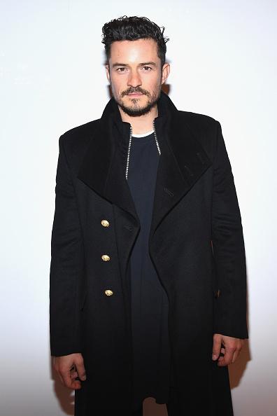 オーランド・ブルーム「Balmain Homme : Front Row - Paris Fashion Week - Menswear F/W 2018-2019」:写真・画像(11)[壁紙.com]