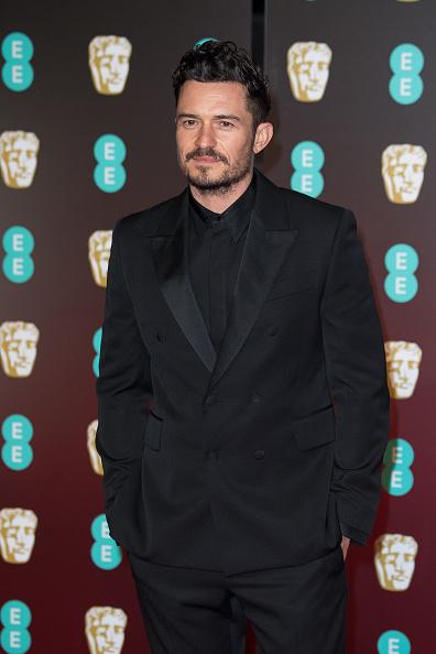 オーランド・ブルーム「EE British Academy Film Awards - Red Carpet Arrivals」:写真・画像(17)[壁紙.com]
