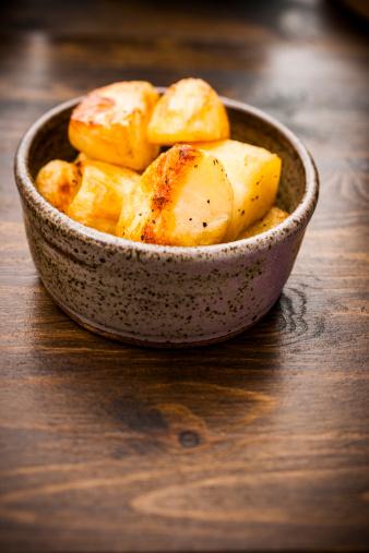 Baked Potato「Bowl of roasted potatoes」:スマホ壁紙(7)
