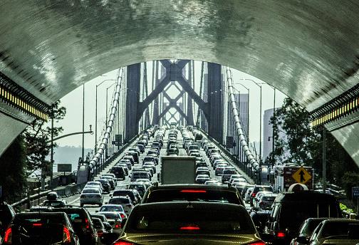 Traffic「Driving through the Bay Bridge Tunnel」:スマホ壁紙(1)