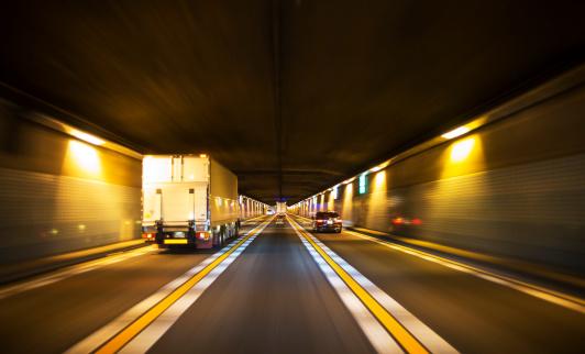 Dividing Line - Road Marking「Driving through tunnel」:スマホ壁紙(12)