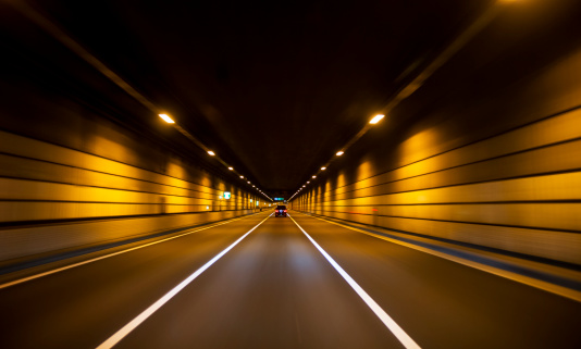 Diminishing Perspective「Driving through tunnel」:スマホ壁紙(10)