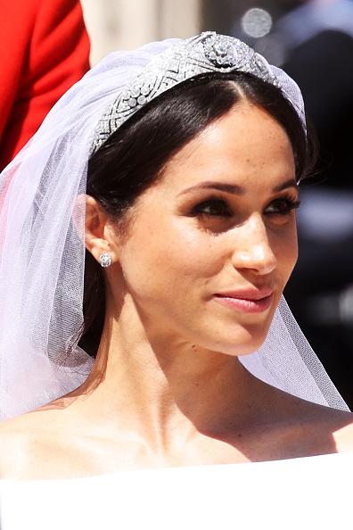 Wedding Dress「Prince Harry Marries Ms. Meghan Markle - Windsor Castle」:写真・画像(9)[壁紙.com]