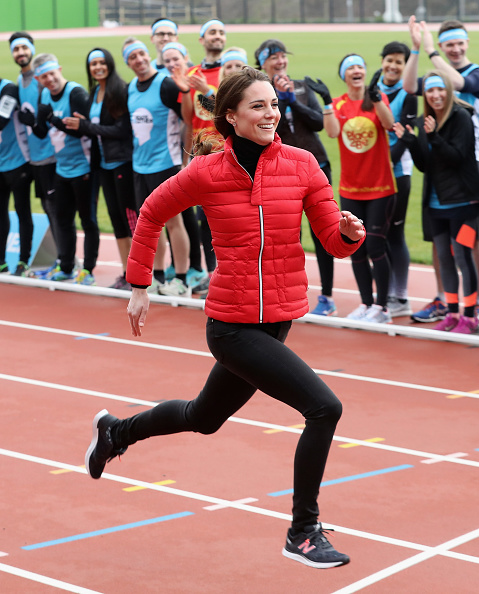 Sports Race「The Duke & Duchess Of Cambridge And Prince Harry Join Team Heads Together At A London Marathon Training Day」:写真・画像(2)[壁紙.com]