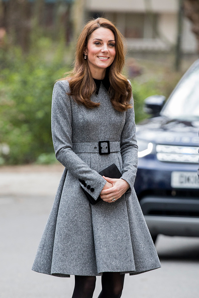 Gray Color「The Duchess Of Cambridge Visits The Foundling Museum」:写真・画像(8)[壁紙.com]