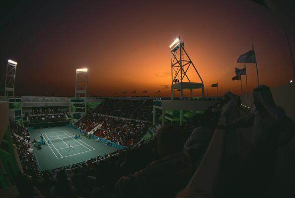 Lighting Equipment「Mannai Cadillac Qatar Tennis Open」:写真・画像(17)[壁紙.com]