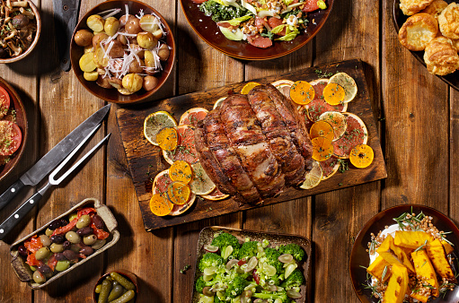 Cutting Board「Roast Beef Feast」:スマホ壁紙(14)
