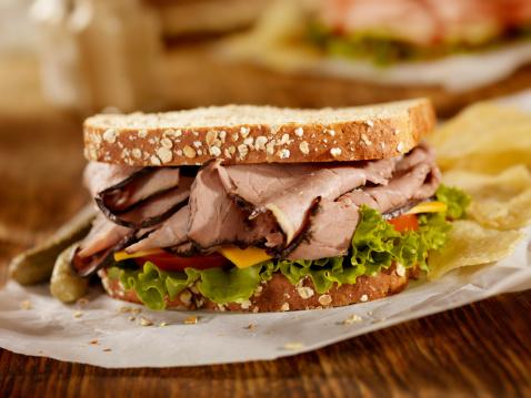 Pub Food「Roast Beef Sandwich」:スマホ壁紙(7)