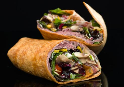 Wrap Sandwich「Roast beef wrap sandwich」:スマホ壁紙(9)