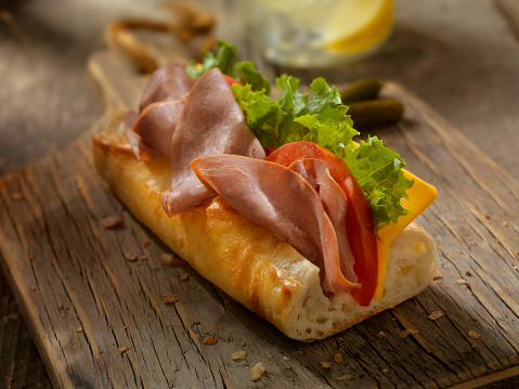 Lemon Soda「Roast Beef and Cheese Sandwich on a baguette」:スマホ壁紙(7)