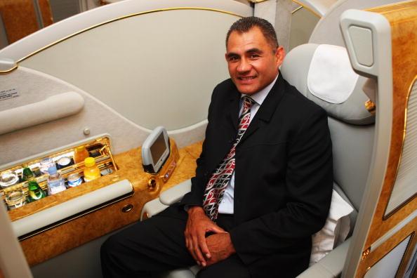 Passenger Cabin「Inaugural Emirates A380 Flight Lands At Auckland Airport」:写真・画像(10)[壁紙.com]