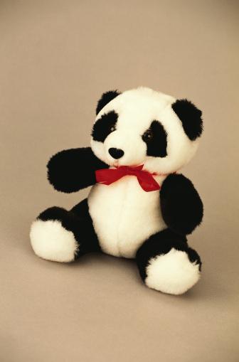 パンダ「Stuffed Panda」:スマホ壁紙(6)