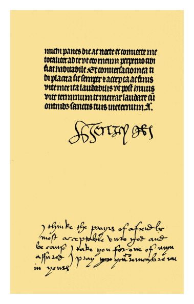 Writing「Autograph: Henry VII and Elizabeth of York, late 15th century.」:写真・画像(15)[壁紙.com]