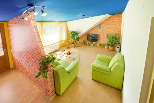 Loveseat「Colorful Living Room」:スマホ壁紙(13)