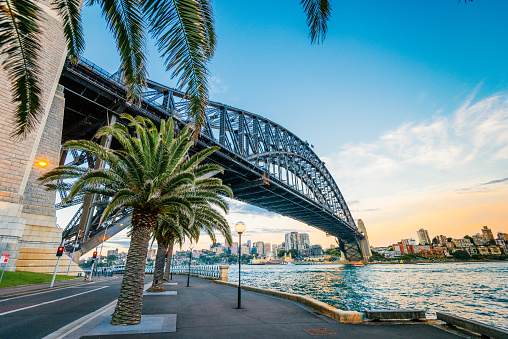 Sydney Harbor Bridge「Famous travel destination for many travelers is Sydney, Australia」:スマホ壁紙(7)