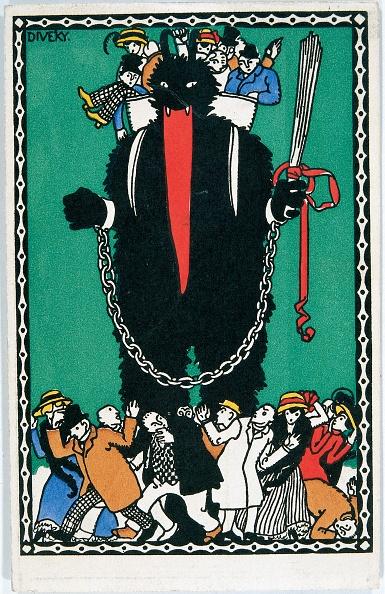 Postcard「Krampus (Devil)-Figure」:写真・画像(19)[壁紙.com]
